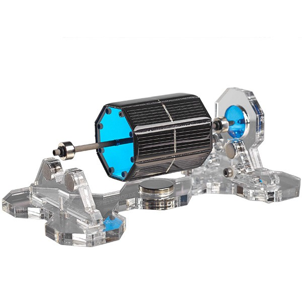Mendocino-Motor X-8 in Blau mit transparenter Acryl-Basis