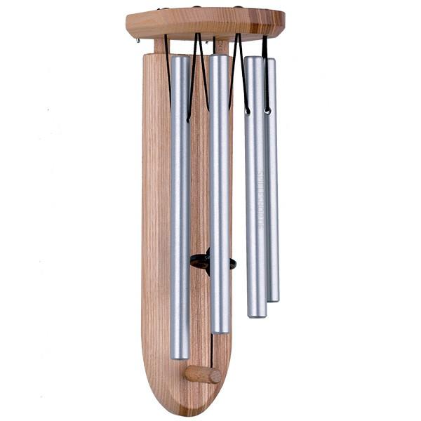Tür-Klangspiel Merkur in silber/natur - 25 cm