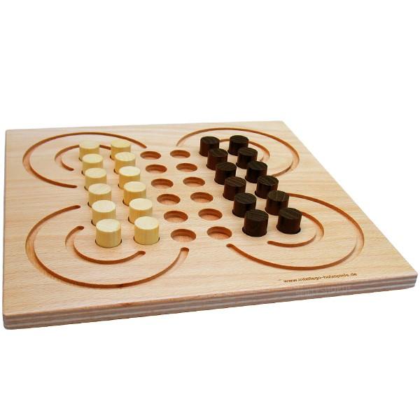 Surakarta - Indonesisches Spiel als Holzbrettspiel von Intellego
