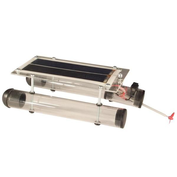 Solar-Schiff / Katamaran Bausatz