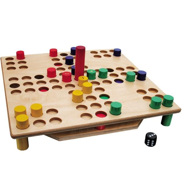 Die Räuberleiter - Hochwertiges Holzbrettspiel von Intellego