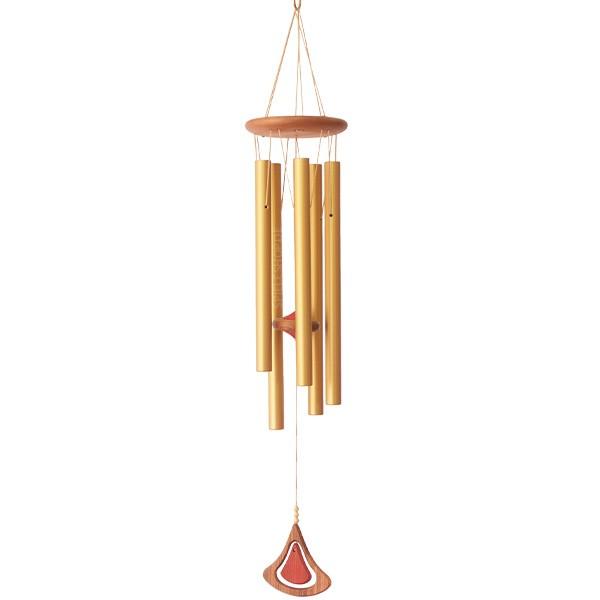 Klangspiel Terra Colour in gold/natur - 85 cm
