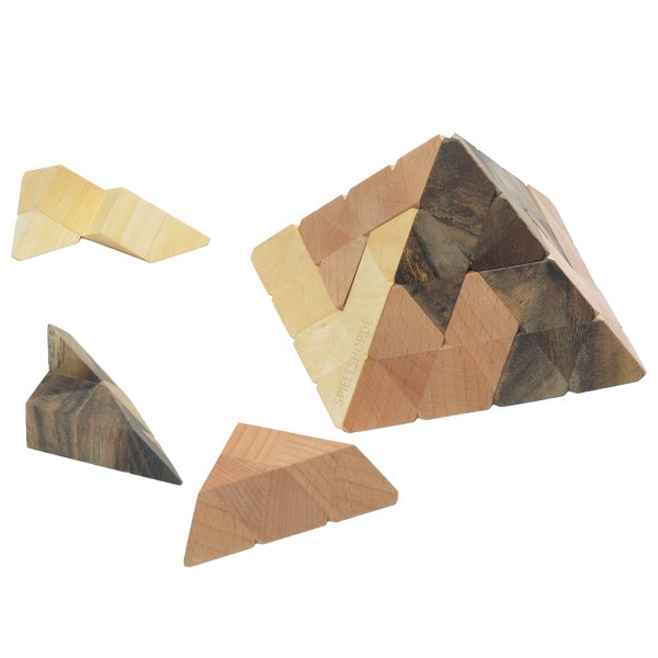 Gizeh Puzzle - Pyramide - 12 Teile
