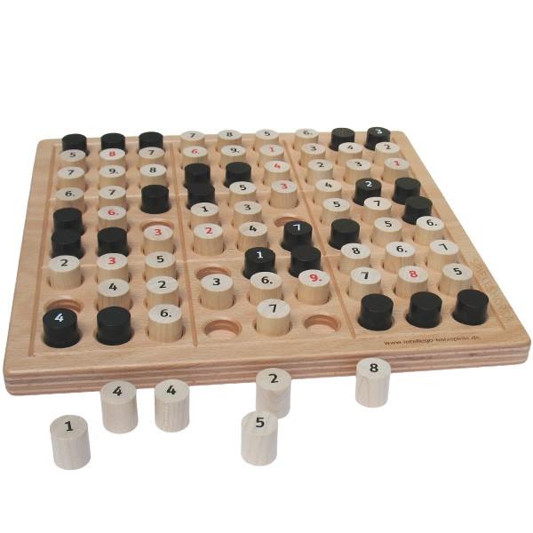 STR8TS und Sudoku als hochwertiges Holzbrettspiel