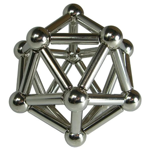 Magnet-Bausatz Ikosaeder 4x15mm
