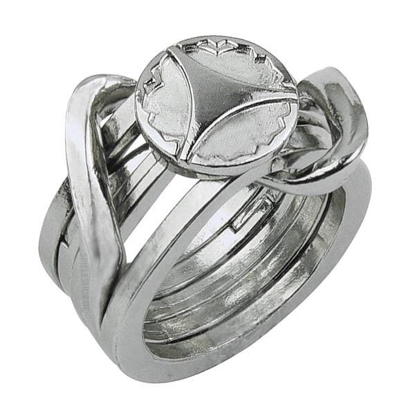 Huzzle Cast Puzzle Ring II [5]