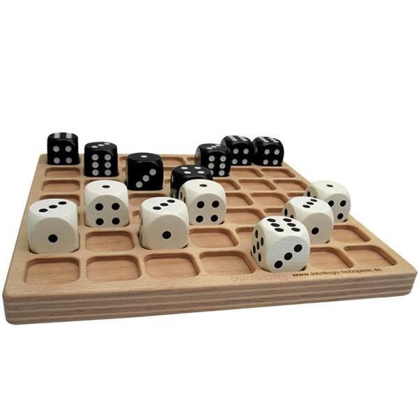 Cublino - Würfelspiel als Holzbrettspiel von Intellego