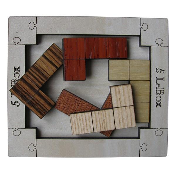 5 L-Box Puzzle