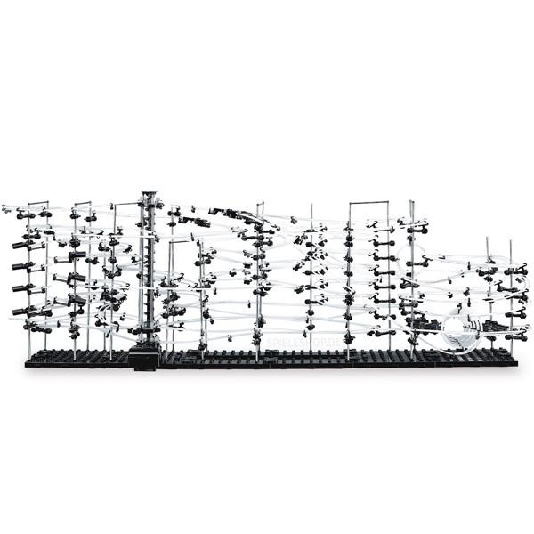 Kugelbahn Spacerail Level 6 - Konstruktion mit 60 Meter Bahnlänge