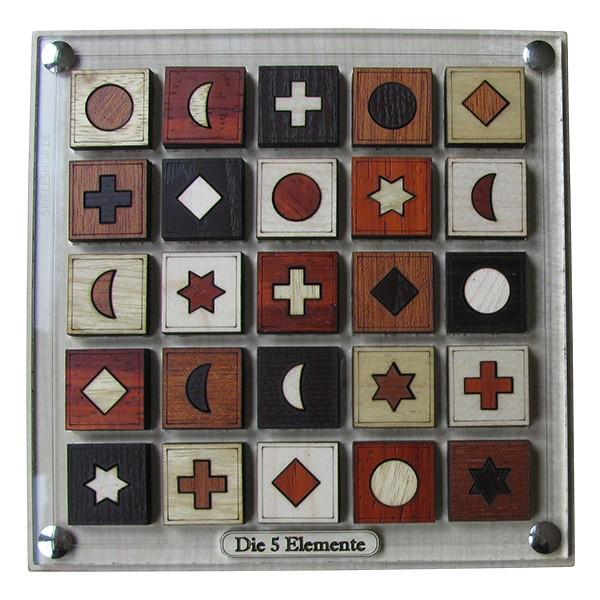 5 Elemente Legepuzzle