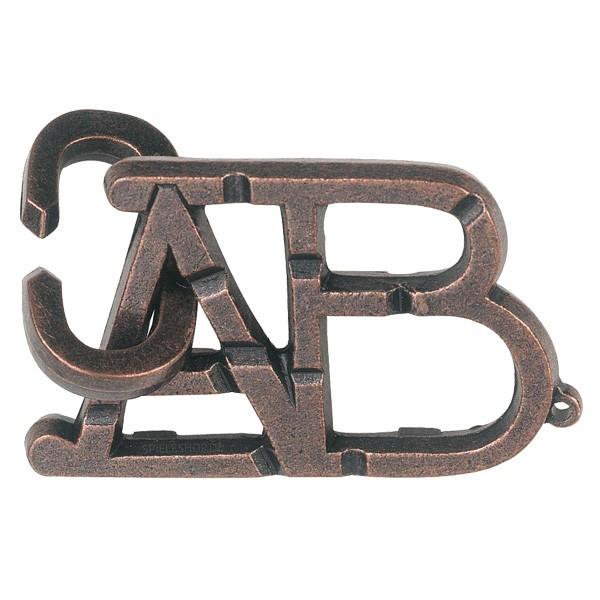 Huzzle Cast Puzzle ABC [1]
