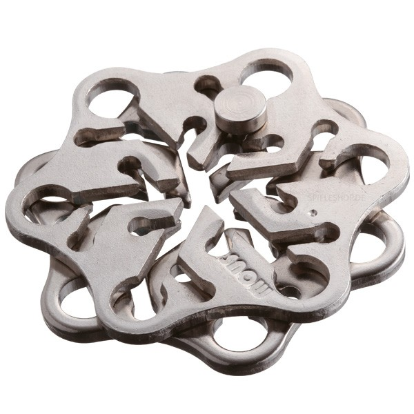 Huzzle Cast Puzzle Snow [2]