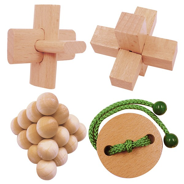 Holzpuzzle-Set - Wooden Puzzles Collection Junior