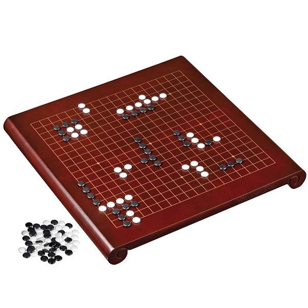 Go & Go Bang Spielbrett aus Holz im Set - 40cm