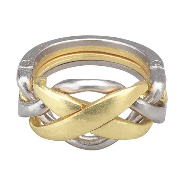 Huzzle Cast Puzzle Ring [4]