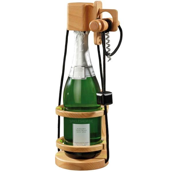 Flaschen-Safe - Flaschen-Veredelung mit Korkenzieher