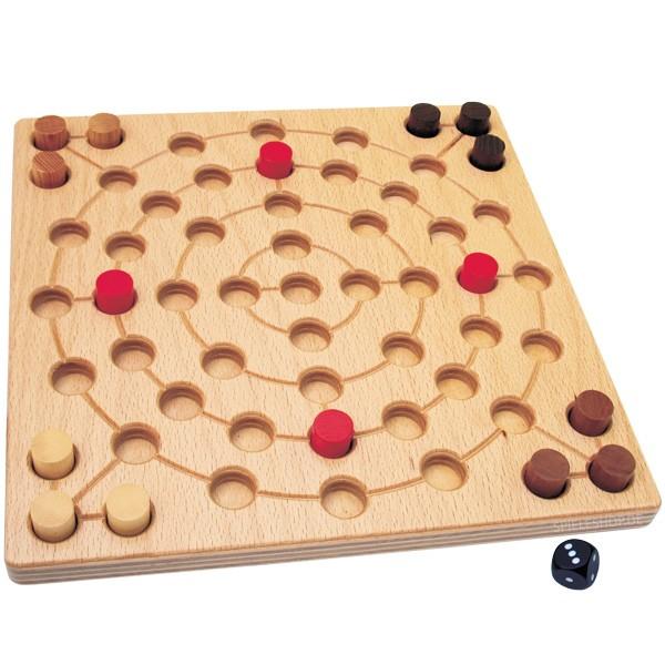 Centro classic - Hochwertiges Blockadespiel aus Holz von Intellego