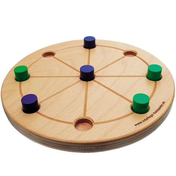 Radmühle - Hochwertige runde Mühle-Variante aus Holz von Intellego