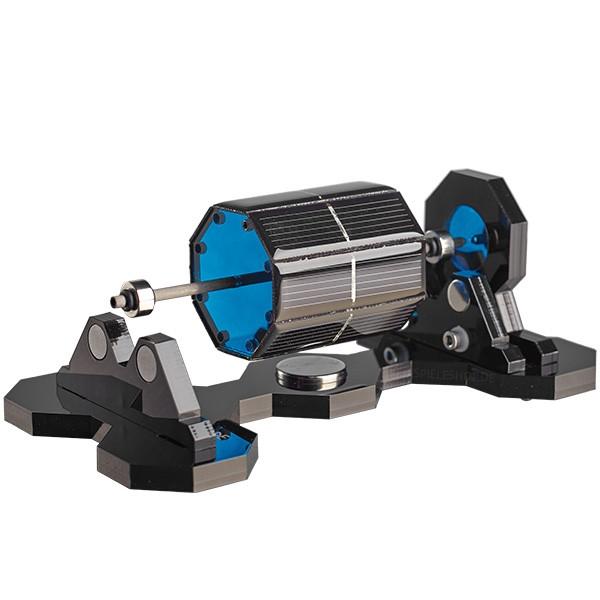Mendocino-Motor Xs-8 in Blau mit schwarzer Acryl-Basis